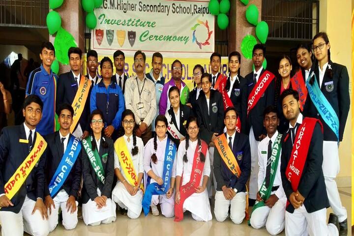 M G M Higher Secondary School-Investiture Cermony1