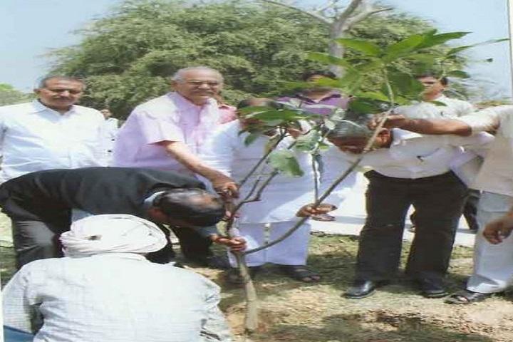 Har Prasad Das Jain College-Trees Plantation