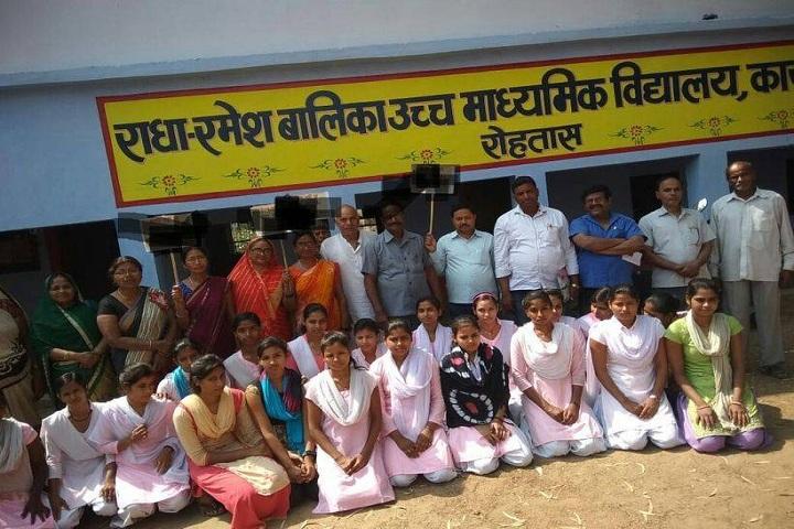 Radha Ramesh Girls Senior Secondary School-Group Photo