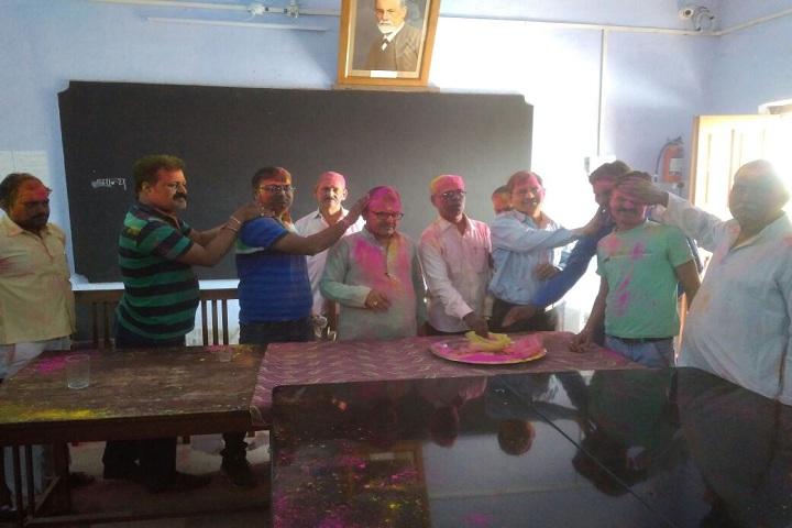 Anugrah Narayan Smarak College-Festival Celebration