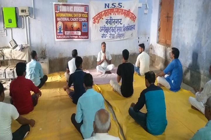 Anugrah Narayan Smarak College-Yoga