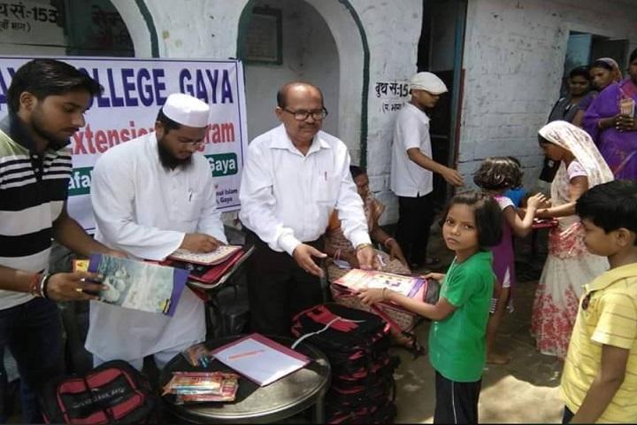 Gaya College-Books Distribution