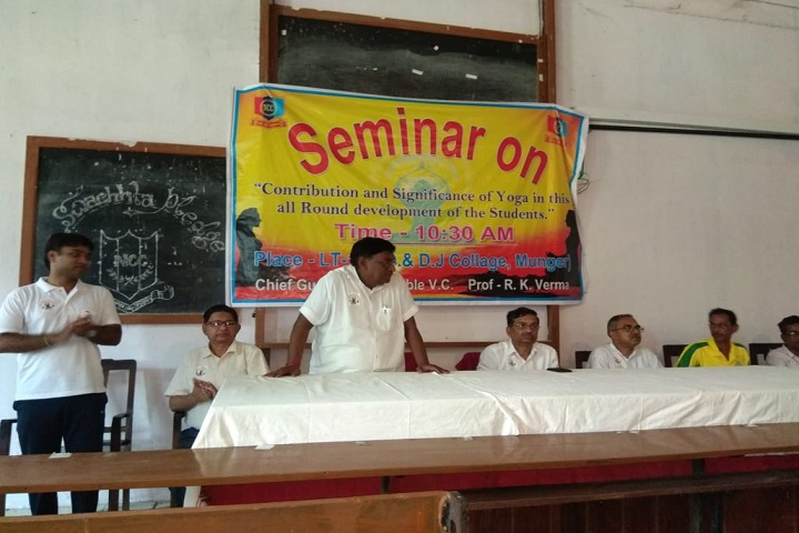 Jagjivan Ram Shramik Mahavidyalaya-Seminar