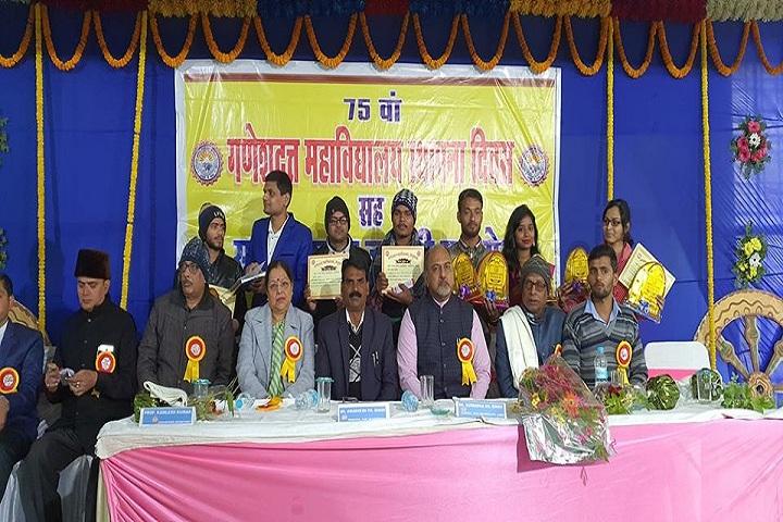 Ganesh Dutt College-Programme