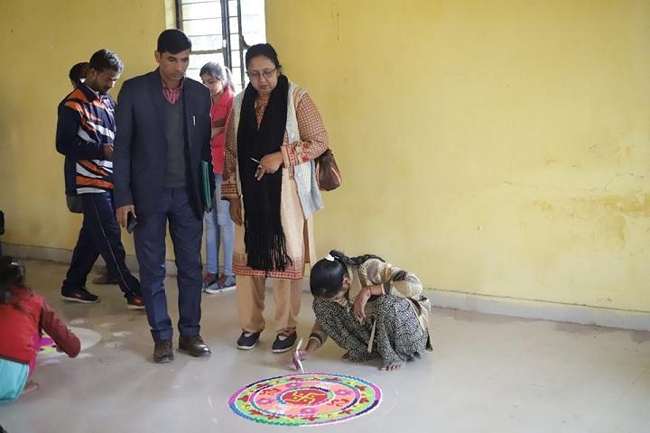 Ganesh Dutt College-Rangoli