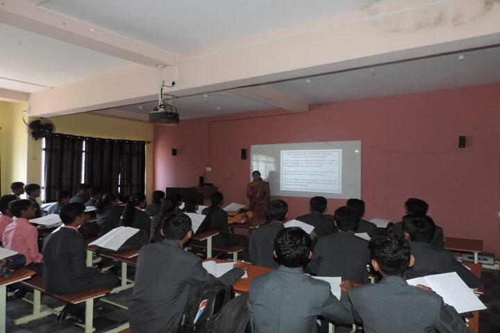 Aacharya Pre-University College-Classroom