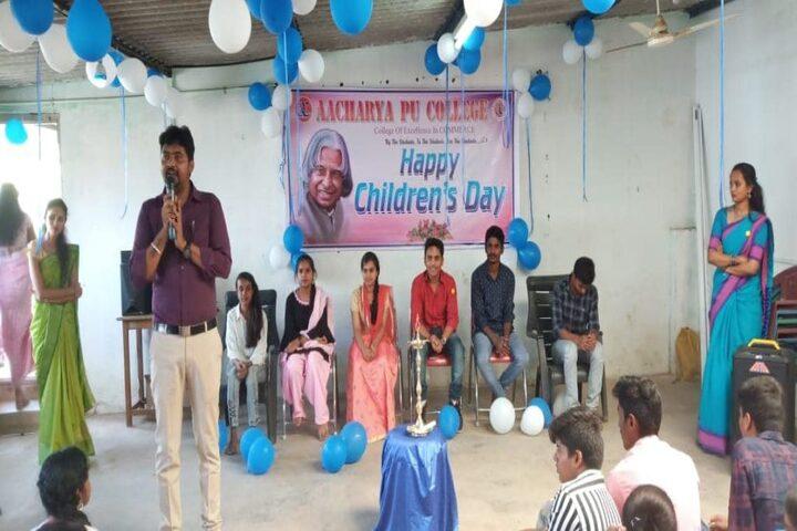 Aacharya Pre-University College-Event