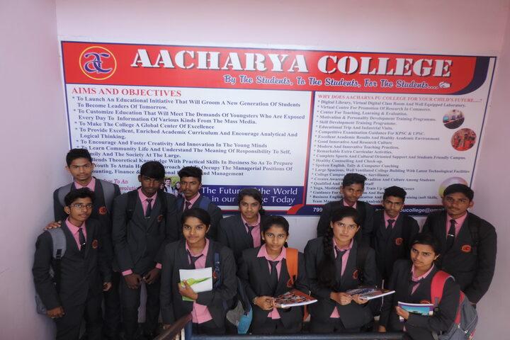 Aacharya Pre-University College-Students