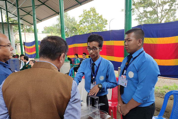Churachand Higher Secondary School-Science Exhibition