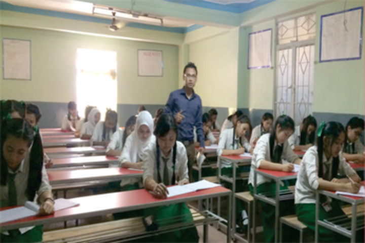 Accent Girls Academy-Examination Hall