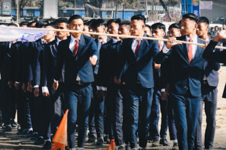 Bethany Higher Secondary School-Marching