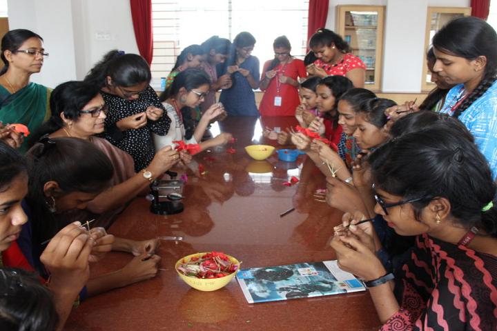 Jyothi Nivas Pre University College-Biology Laboratory