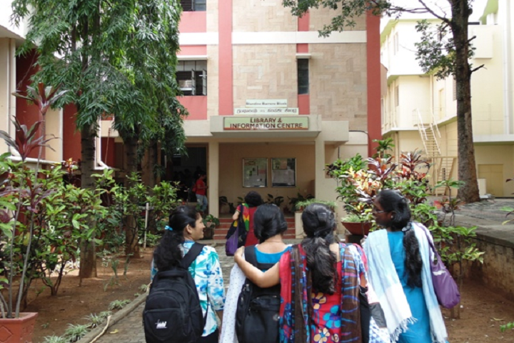 Jyothi Nivas Pre University College-Library Outer View