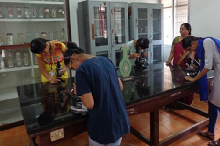 NMKRV Pre University College-Biology Laboratory