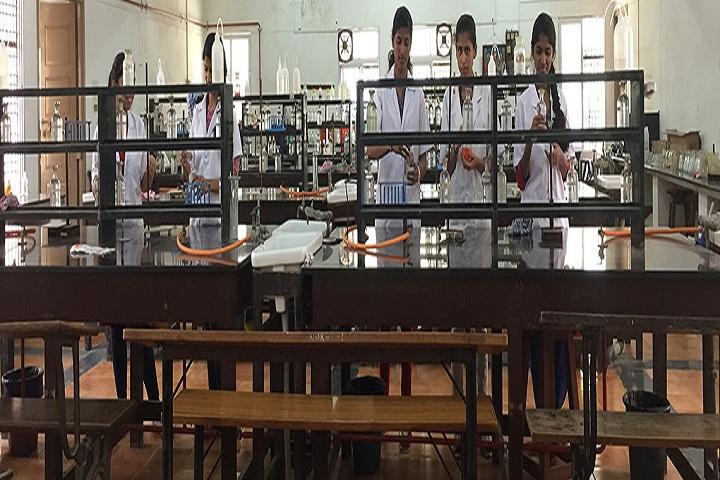 NMKRV Pre University College-Chemistry Laboratory