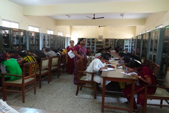 NMKRV Pre University College-Library With Reading Room