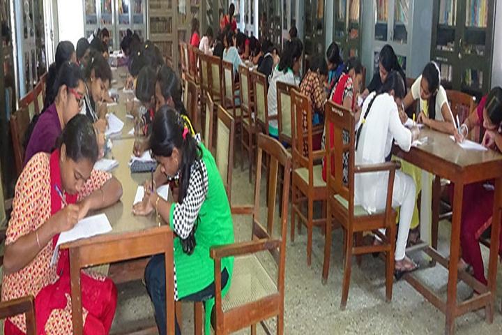NMKRV Pre University College-Library