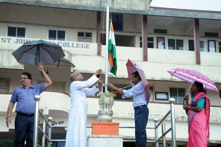 St John's Composite Pre-University College- Independence Day Celebration