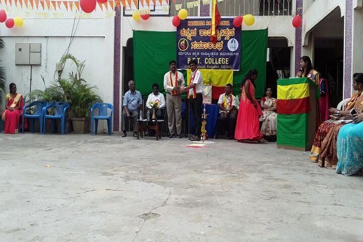 BET Pre-University College-Kannada Rajyotsava Celebration