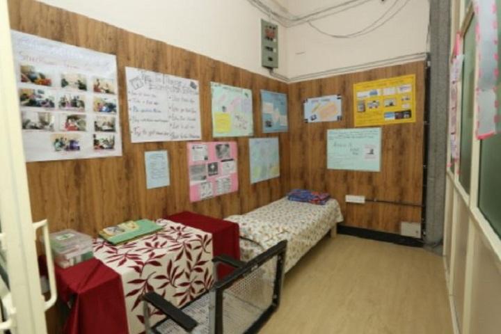 C B Bhandari Jain Pre-University College-Medical Facility