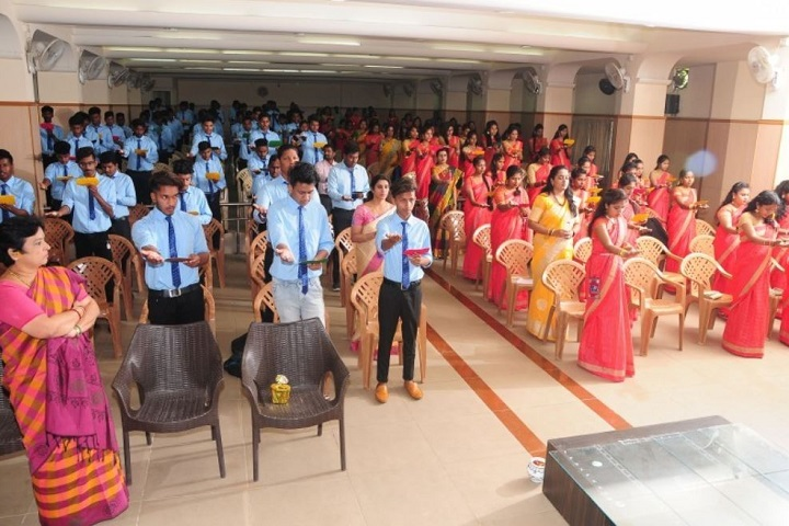 V E T Manandi Composite P U College-Farewell Party