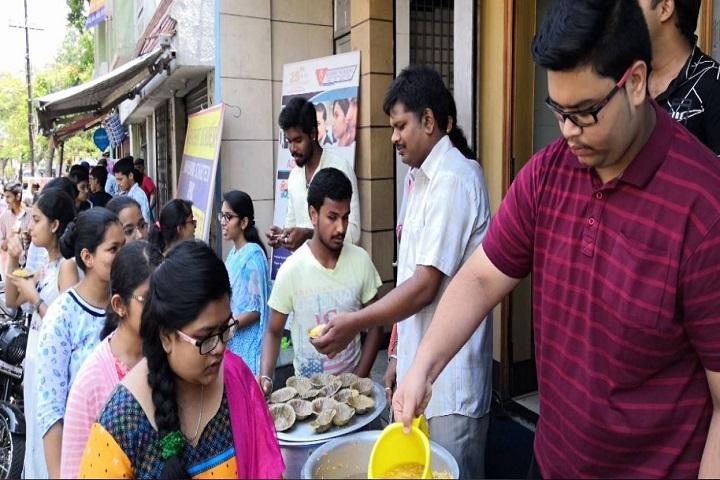 S N Bhat Independent Pre-University College-Food Distrubtion