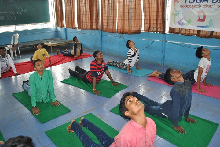 S N Bhat Independent Pre-University College-Yoga