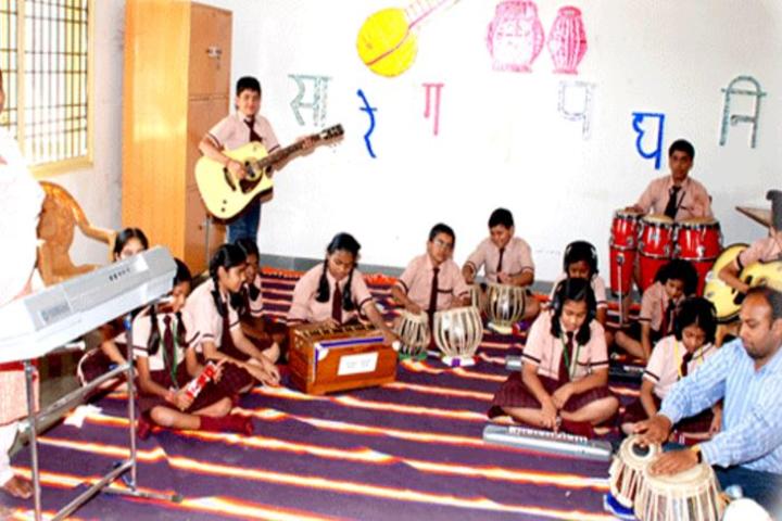 Mintu International Public School-Music