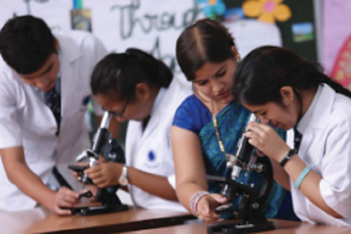 Advitya Pre University College-Biology Laboratory
