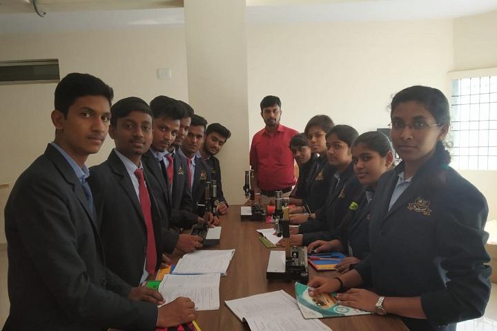 Jnana Mandira Pre University College-Biology Laboratory