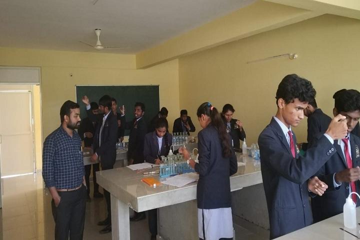 Jnana Mandira Pre University College-Chemistry Laboratory