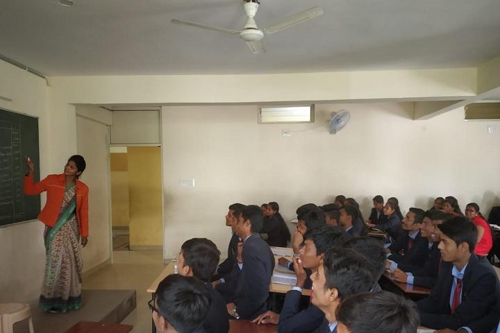 Jnana Mandira Pre University College-Classroom With Teacher