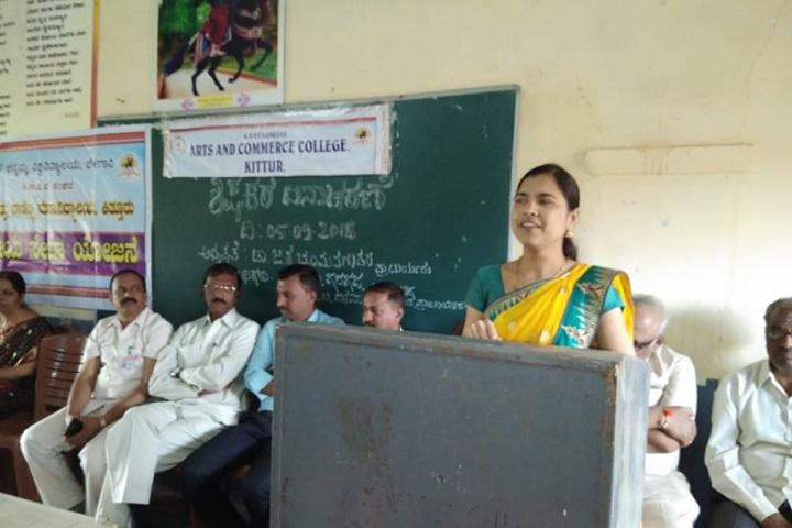 Kittur Nada Vidya Vardhak Sanghas Arts and Commerce Pre-University College-Seminar