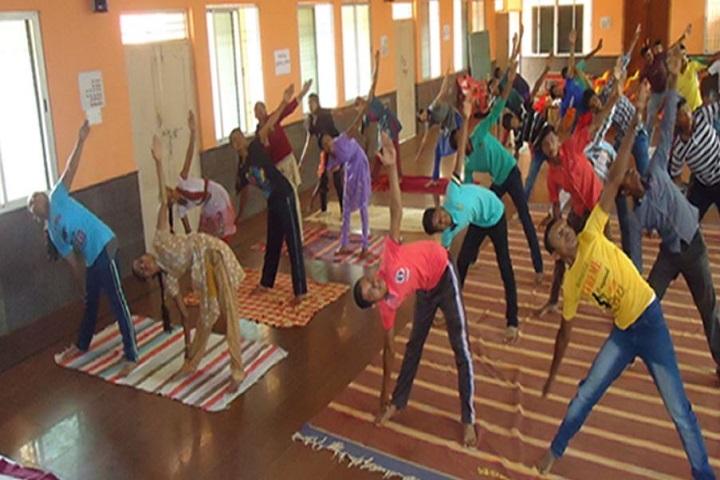 Kittur Nada Vidya Vardhak Sanghas Arts and Commerce Pre-University College-Yoga
