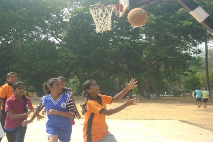Secab Pre-University College For Women-Basket Ball Court