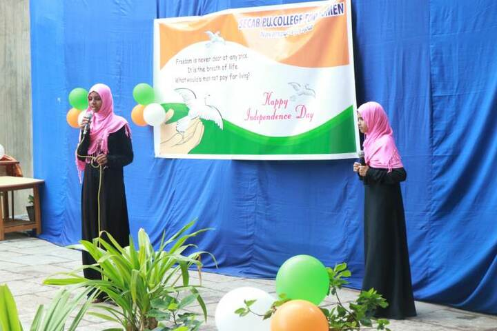 Secab Pre-University College For Women-Independence Day