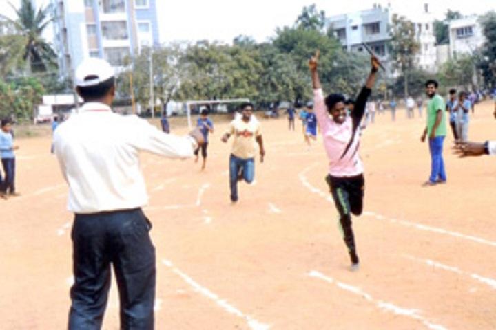 Bangalore City Pre University College-Running