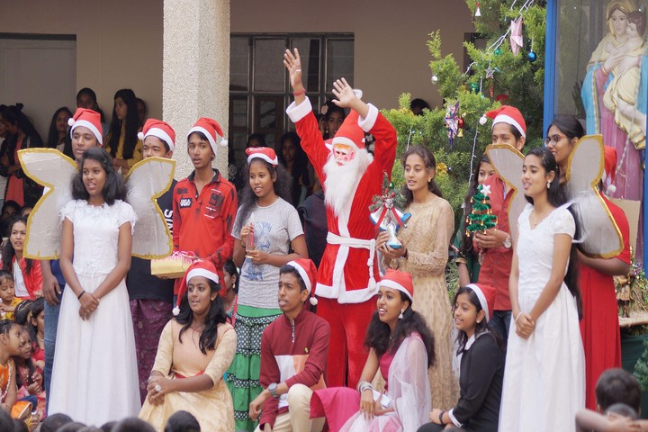 St Marys Pre-University College-Christmas Celebrations