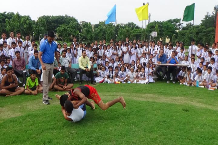 Monnet DAV public school-sports