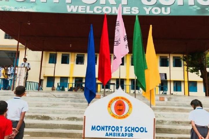 Montfort School-stage
