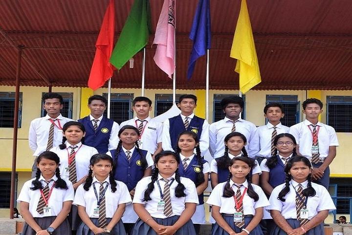 Montfort School-children