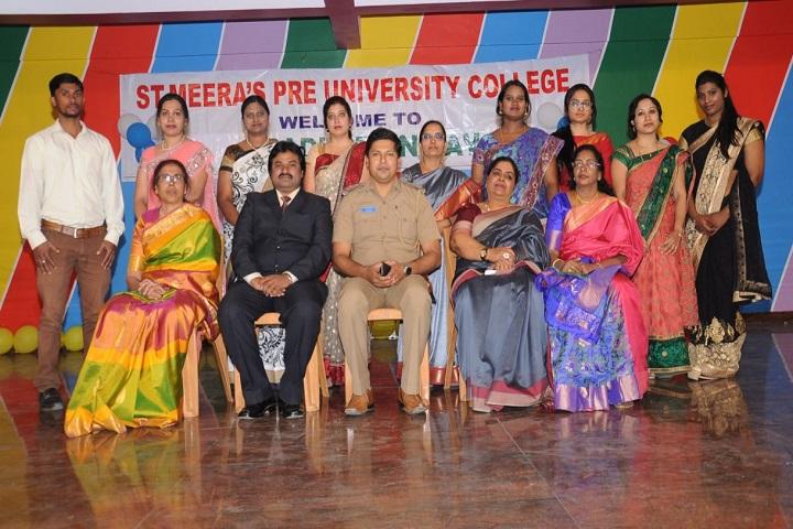 St Meeras Pre-University College-Staff
