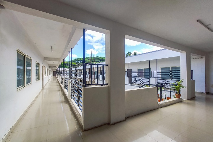Base Pre University College-Campus Inside View