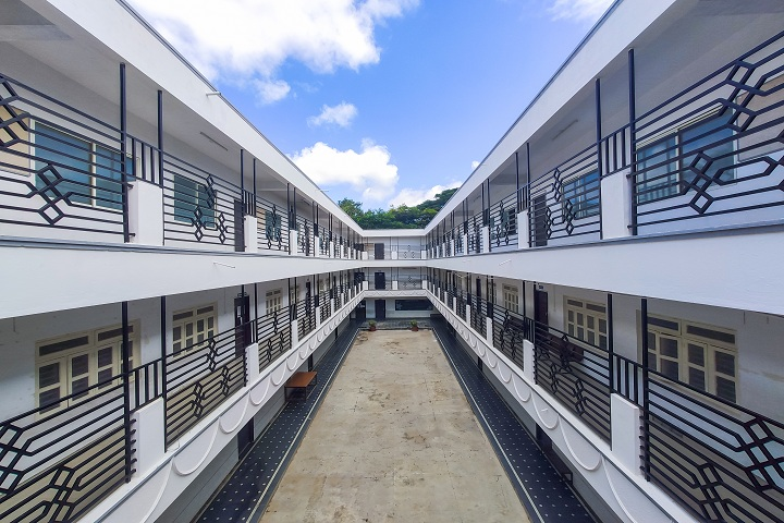Base Pre University College-College Building