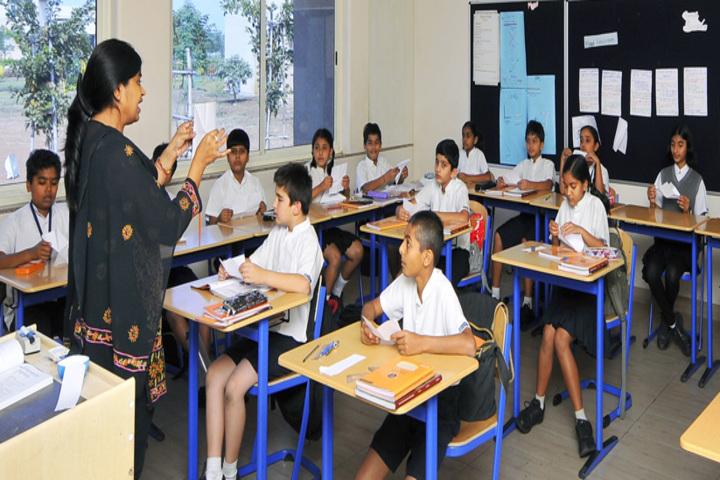 N H Goel World School-Classroom