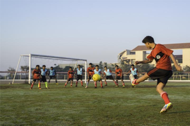 N H Goel World School-Football