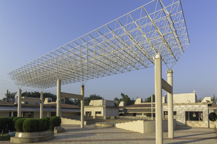 N H Goel World School- School View