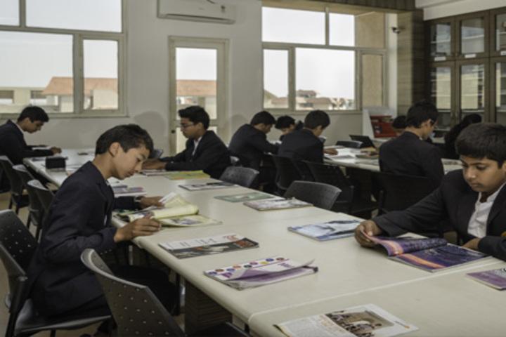 N H Goel World School-Library