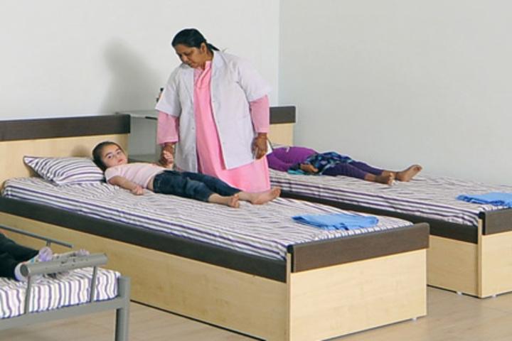 N H Goel World School-Medical Room