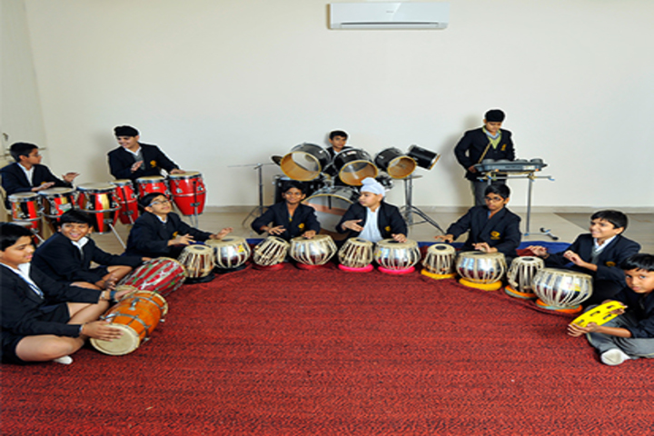 N H Goel World School-Music